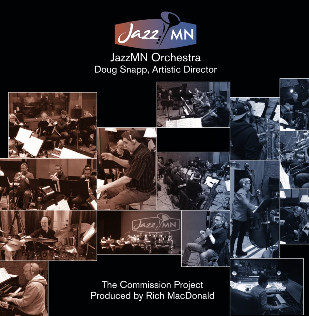 Jazz MN Commission Project CD cover